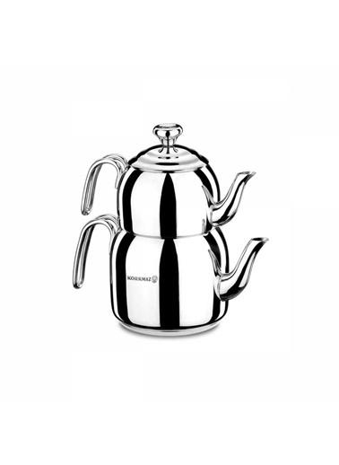 Korkmaz Droppa Maxi Çaydanlık Takımı Renkli